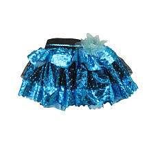 Monster High Petti Skirt   Teal Glitter   Xcessory International