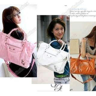 Womens Fashion PU Leather Shoulder Bag Tote Bags Handbag Purse New