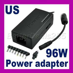 Laptop Universal 96W AC Power adapter with Dell Plug