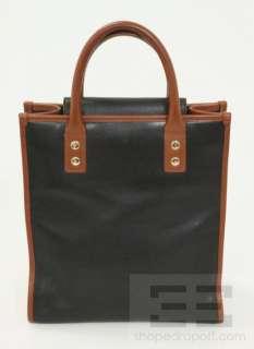 Kate Spade Black & Brown Leather Ingrid Veradero Tote Bag