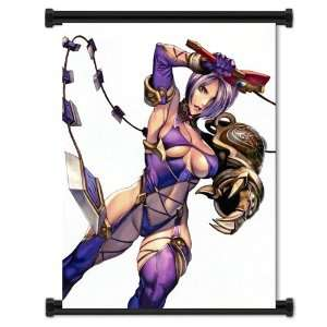 Soul Calibur IV Game Ivy Fabric Wall Scroll Poster (16x23
