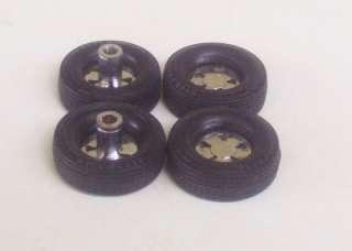 Hot Rod Tires n Mag Wheels #14 125 Model Car Parts