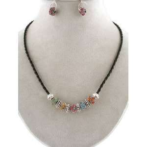 Fashion Jewelry ~ Multi Color Necklace Set