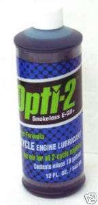 12 ea 12 OZ OPTI 2 2 CYCLE ENGINE OIL LUBRICANT 21224