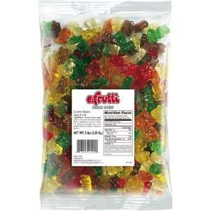frutti Gummi Bears, 5 Pound Bag:  Grocery & Gourmet Food
