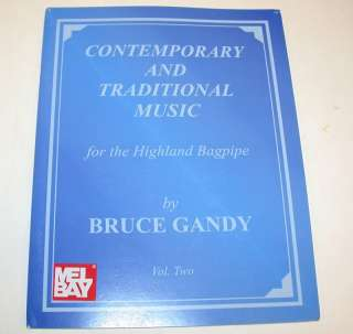 Contemporary/Traditional Music Bagpipe Songbook, Vol. 2