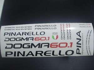 PEGATINA CUADRO STICKER FRAME PINARELLO DOGMA 60.1