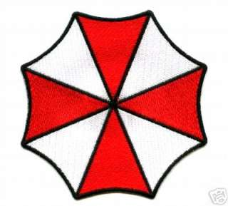 RESIDENT EVIL RACOON CITY UMBRELLA CORP. UNIFORM PATCH