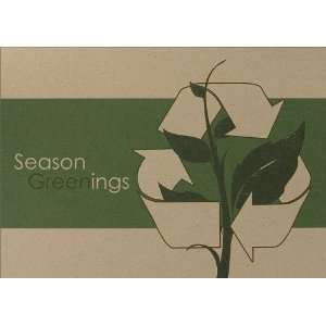 Recycle Symbol Greenings   100 Cards