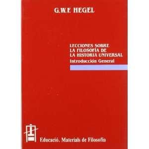 sobre filosofía de la historia universal  introducción general