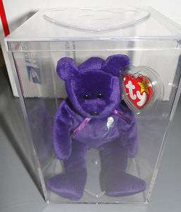 Ty Beanie Baby Princess in Case Retired Rare Mint w/Tags and protector