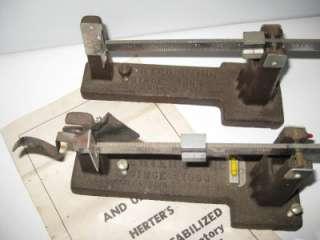 Herters Herters Scales Black Powder Reloading Model 2 Cast Iron Scale