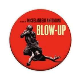 Blow Up Movie 1 Pin Button Badge (Antonioni Retro 60s)