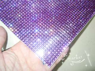 Bling Skin Purple Sticker Decal Phone Laptop Table etc