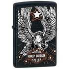 Zippo Harley Davidson Black Eagle Lighter By Zippo
