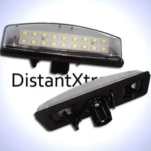 Lexus Toyota LED License Plate Tag Light Modules CAMRY