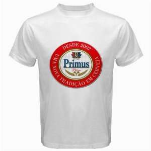 PRIMUS CONGO BEER Logo New White T Shirt Size  S, M ,L