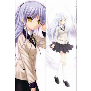 Anime Body Pillow Anime Angel Beats, 13.4x39.4 Double
