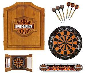 HARLEY DAVIDSON BAR & SHIELD DARTS KIT 61995