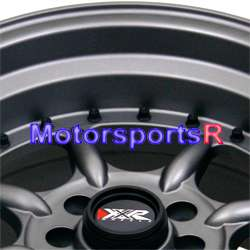 002 Flat Gun Metal Rims Wheels Deep Dish Lip 4x100 03 06 Scion xB xA