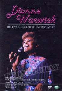 Dionne Warwick   The Diva of Soul Music Live DVD*NEW*