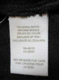 Free People Charcoal Gray Spaghetti Straps Dress Size M Womens