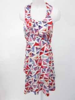 MARC BY MARC JACOBS Multicolor Print Halter Dress Sz M