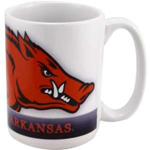 Arkansas Razorbacks 15 oz. Coffee Mug: Sports & Outdoors