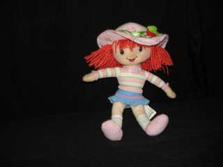 Beautiful Strawberry Shortcake Doll Plush 2007