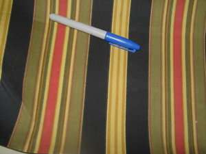 Fabric Sun & Shade Indoor/Outdoor Etienne Stripe 155GG