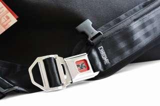 CHROME Citizen Messenger Bag Black/Black/Chrome NEW