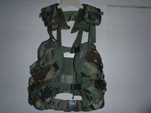 Tactical Vest Field Gear Complet With Belt used by US Military