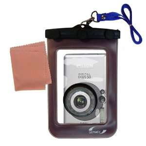 Gomadic Clean n Dry Waterproof Camera Case for the Canon IXY Digital