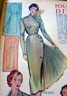 AMAZING FRENCH PARIS FASHION PICTURES 1910 1950s CD 1000+ ONE OF A