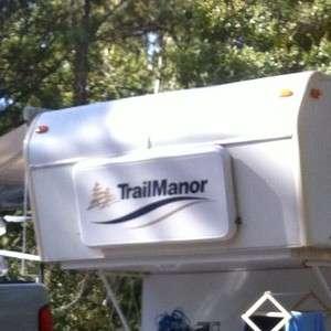 Rv Trail manor Sticker Decals camper trailer stickers graphics