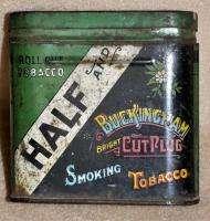Antique Buckingham Half Bright Cut Plug Collectible Tobacco Tin Circa