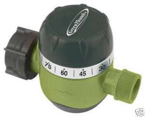 MECHANICAL WATER WATERING TIMER w Auto Shut Off 052088004395