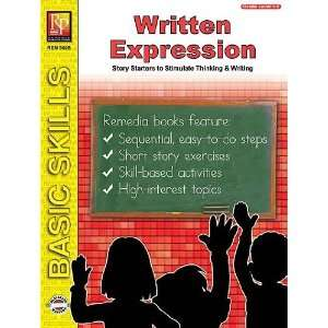 Remedia Publications 302B Written Expression Toys & Games