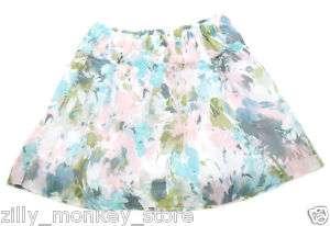 Abercrombie & Fitch Women Floral Mini Skirt Sz XS