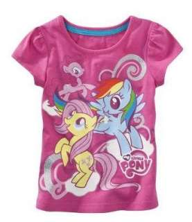 My Little Pony Shirt Top Tee Size 2T 3T 4T 5T CANTERLOT