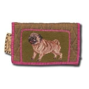 Claws Collection Pug Dog Puppy Large Wallet / Handbag