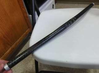 Scott Black Magic carbon MTB flat bar 25.4mm 156 grams