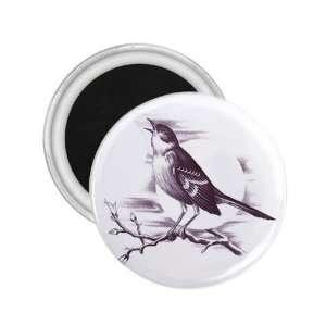 NEW Tattoo Sparrow Bird Fridge Souvenir Magnet 2.25