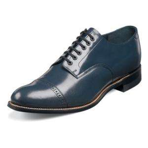 Stacy Adams MADISON Mens Navy Leather Shoe 00012 22