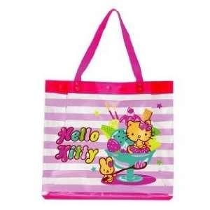 Hello Kitty Vinyl Tote Bag Sundae