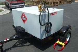 FUEL SERVICING TANK Refueling Trailer   Coml   390 Gal