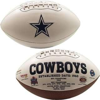 Dallas Cowboys Footballs Dallas Cowboys Signature Series Football