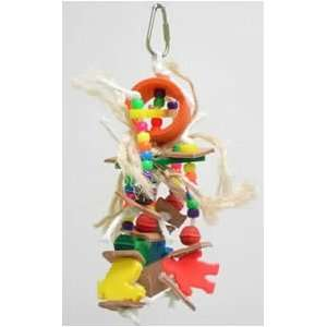 Zoo Max DUS388 Baby Darling 8in x 3in Medium Bird Toy:  Pet