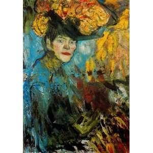 Pablo Picasso   24 x 34 inches   Mujer en el palco