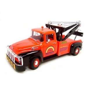 1956 Ford F100 Tow Truck Red 118 Diecast Model Toys